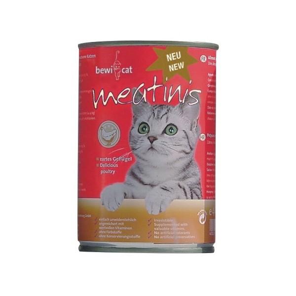 Bewi Cat Meatinis Geflügel 400g
