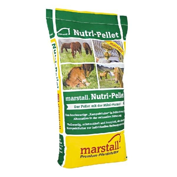 marstall Nutri-Pellet 25kg - haferfreie Pellets für vollwertige Pferdefütterung