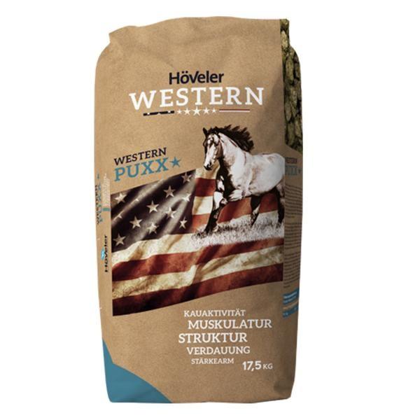 Höveler Western PuXX - Strukturfutter zum Ausgleich in Zeiten von Heumangel 17,5kg