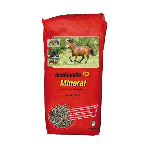 Deukavallo Mineral - Mineralfutter für Pferde mit essentiellen Aminosäuren 20kg