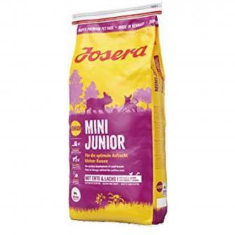 Josera MiniJunior 5x 0,9kg - Aufzuchtfutter für kleine Hunderassen