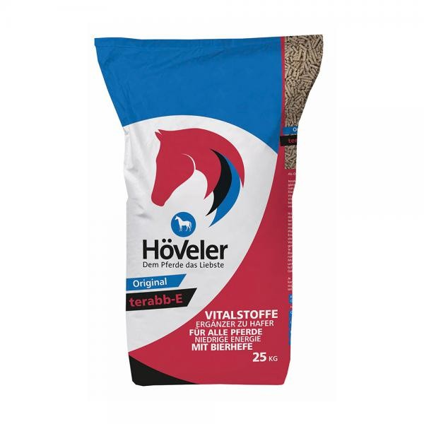 Höveler terabb-E - vitaminisierte Pellets 25kg