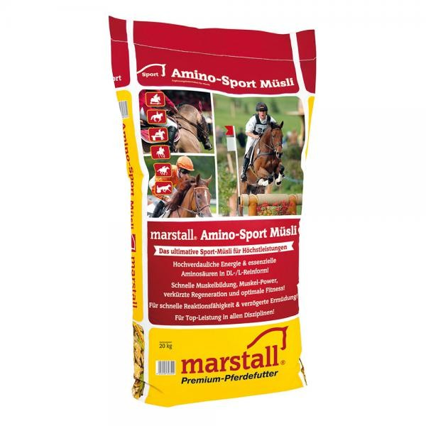 marstall Sport-Linie Amino-Sport Müsli 20kg