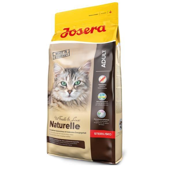 Josera Katze Naturelle - Getreidefreies Trockenfutter für Indoor Katzen