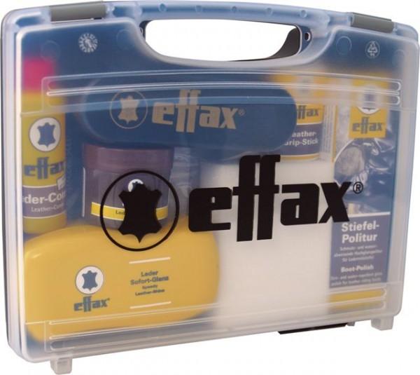 Effax Leder-Pflege-Koffer - Innovatives Set mit hochwertigen Lederpflegeprodukten