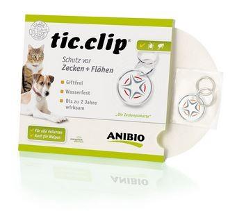 ANIBIO tic-clip, Schutz vor Zecken und Flöhen