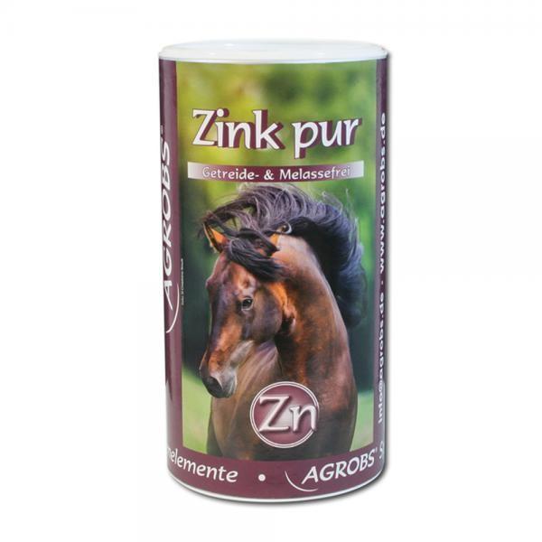 Agrobs Zink pur - Ergänzungsfutter zum Ausgleich des Zinkmangels für Pferde