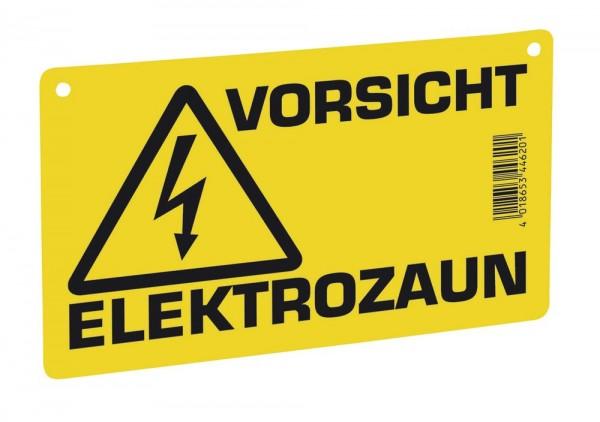 Warnschild – Vorsicht Elektrozaun!