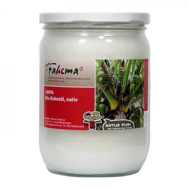 pahema Bio Kokosöl, nativ 500ml