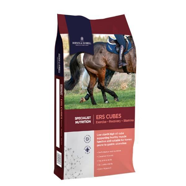 Dodson & Horrell ERS Cubes - Spezial- und Leistungsfutter für Pferde 20 kg