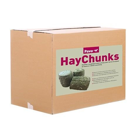Pavo HayChunks 14kg - Raufutter zur Beschäftigung