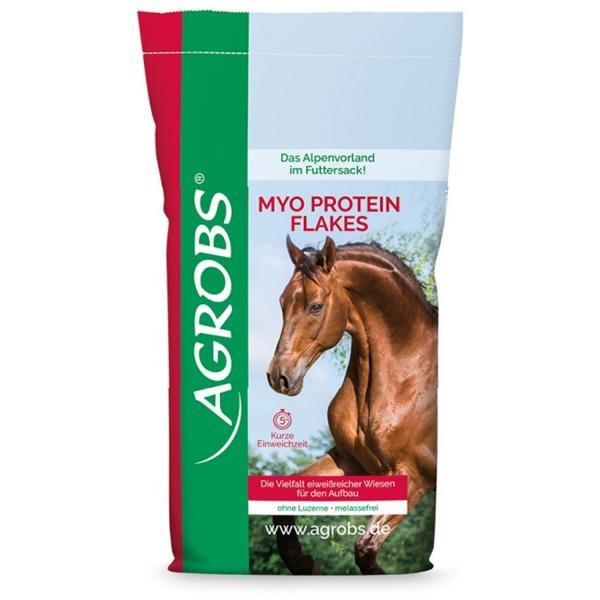 Agrobs Myo Protein Flakes - Eiweißreiches Raufutter 20kg