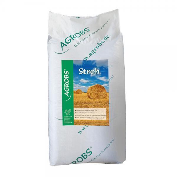 Agrobs Stroh - Hochwertiges garantiert staubfreies Futter für Tiere