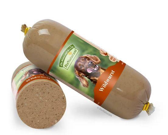 PerNaturam Hund Wildwurst 500g