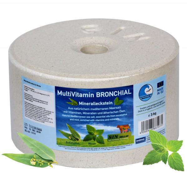 Sin Hellas MultiVitamin BRONCHIAL Mineralleckstein 3kg