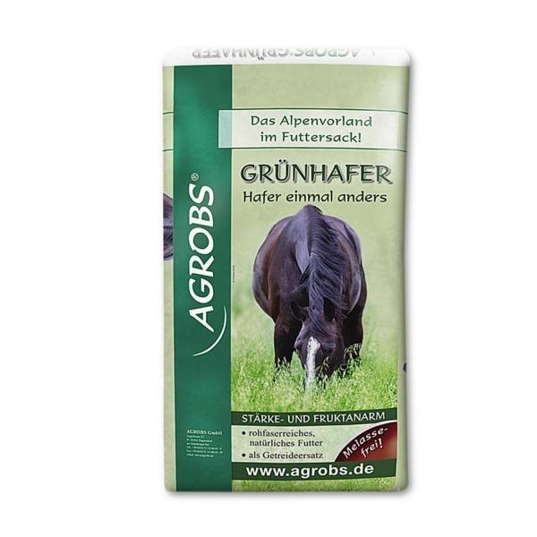 Agrobs Grünhafer- Ein stärkearmes und rohfaserreiches Futter für Pferde 15kg