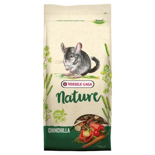 Versele Laga Nager Chinchilla Nature - faserreiche Mischung für Chinchillas 0,7kg