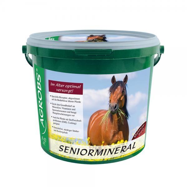 Agrobs Seniormineral- Spezielle Mineralstoffe für Pferdesenioren