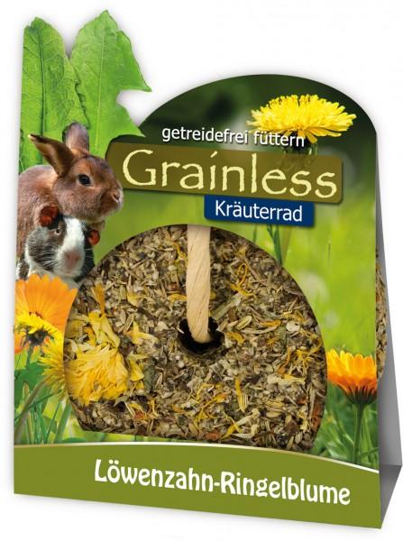 JR FARM Grainless Kräuterrad Löwenzahn-Ringelblume 140g