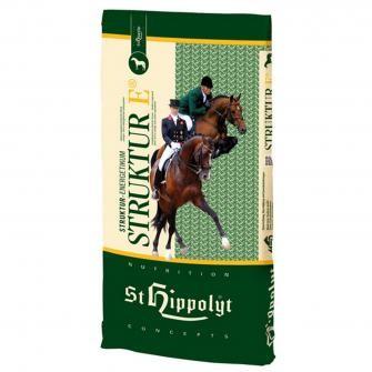 St. Hippolyt Struktur Energetikum - stärkearmes Pferdefutter als Aufbaukonzentrat 20kg