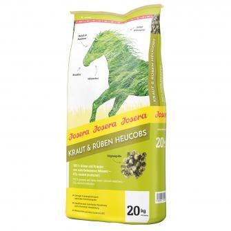 Josera Pferd Kraut & Rüben Heucobs - aus Gräsern & Kräutern von naturbelassenen Wiesen 20kg