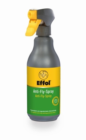 Effol Anti-Fly-Spray 500 ml Sprühflasche - Insekten Repellent Gel für Pferde