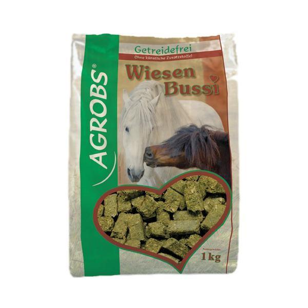 Agrobs Wiesen Bussi- Leckerli für Pferde, getreidefrei