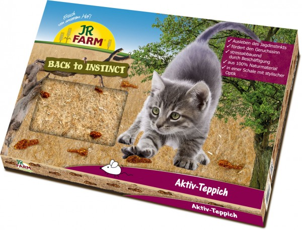 "JR FARM ""Back to Instinct"" Aktiv-Teppich"