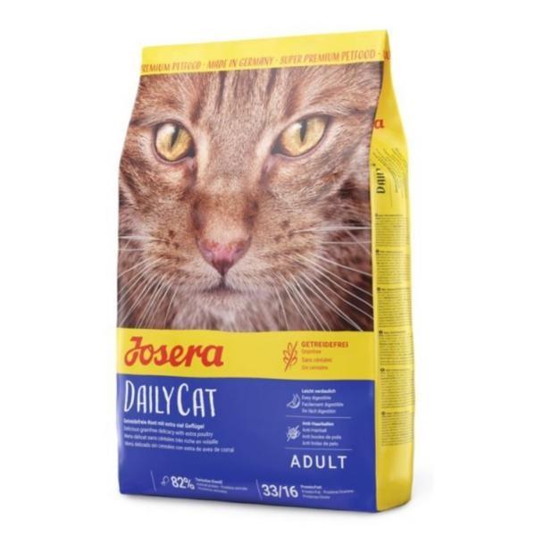 Josera Katze DailyCat - getreidefreie Schonkost für Katzen
