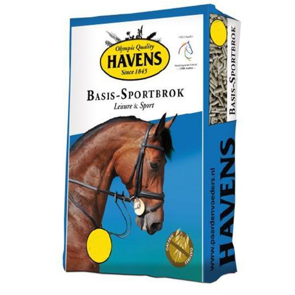 Havens Basis Sportbrok 25kg - Futter für Pferde zur Konditionssteigerung