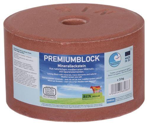 Sin Hellas PREMIUMBLOCK Mineralleckstein 3kg