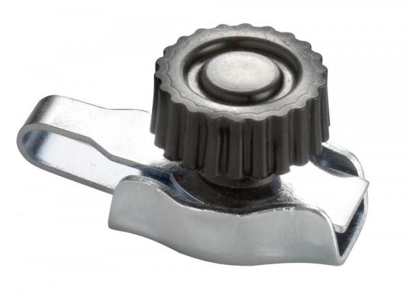 Schraub Seil-/Litzen-Schnellverbinder verzinkt, für Ø 6 - 8 mm Seile