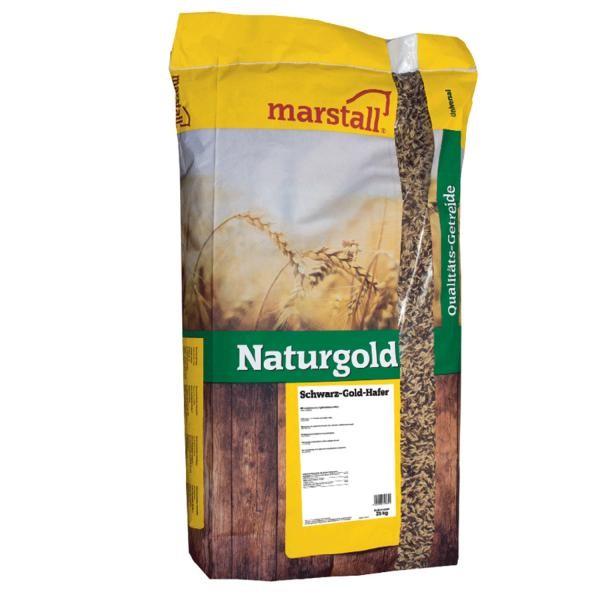 marstall Universal-Linie Naturgold Schwarz-Gold-Hafer - Hafer für Pferde 25kg