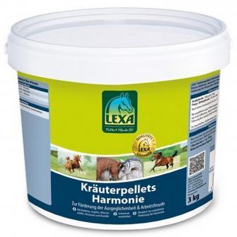 Lexa Kräuterpellets Harmonie 3kg - Kräuter-Mix für Verdauung und Nerven