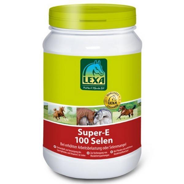Lexa Super-E 100 Selen- Wertvolle Spurenelemente und Vitamine für Pferde 1kg